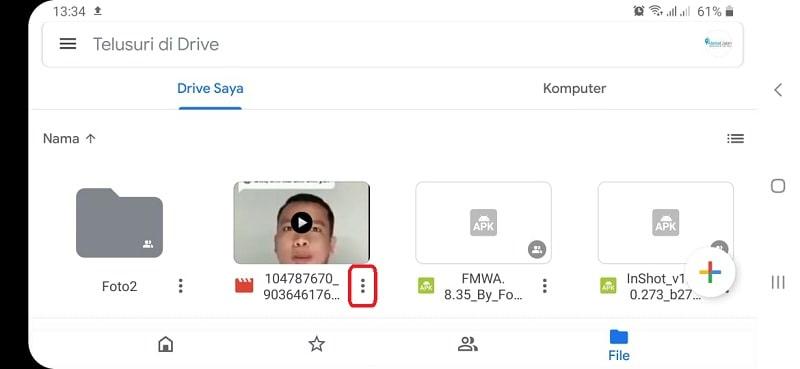 Cara Mengirim Video Lewat Google Drive Via HP dan Laptop