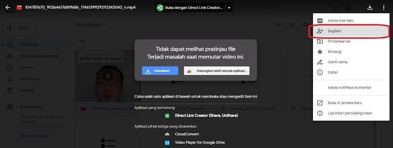 Cara Mengirim Video Lewat Google Drive Via Hp Dan Laptop Spotarya
